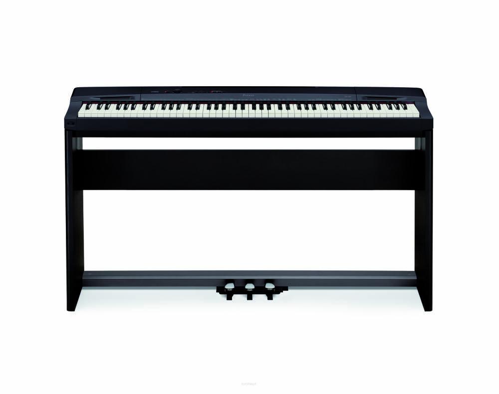 Pianino cyfrowe Casio PX-160 BK - ZESTAW