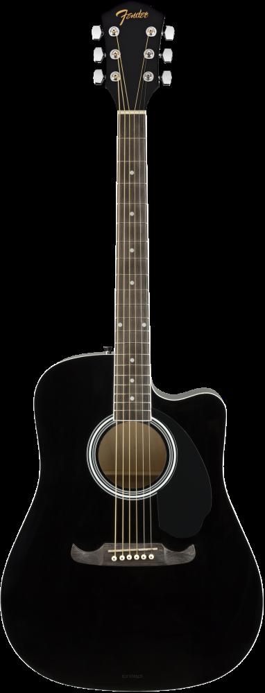 Gitara akustyczna Fender FA-125 CE Black