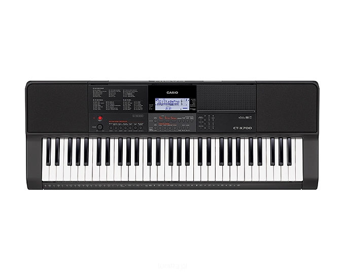 Keyboard Casio CT-X700 + pakiet SMY