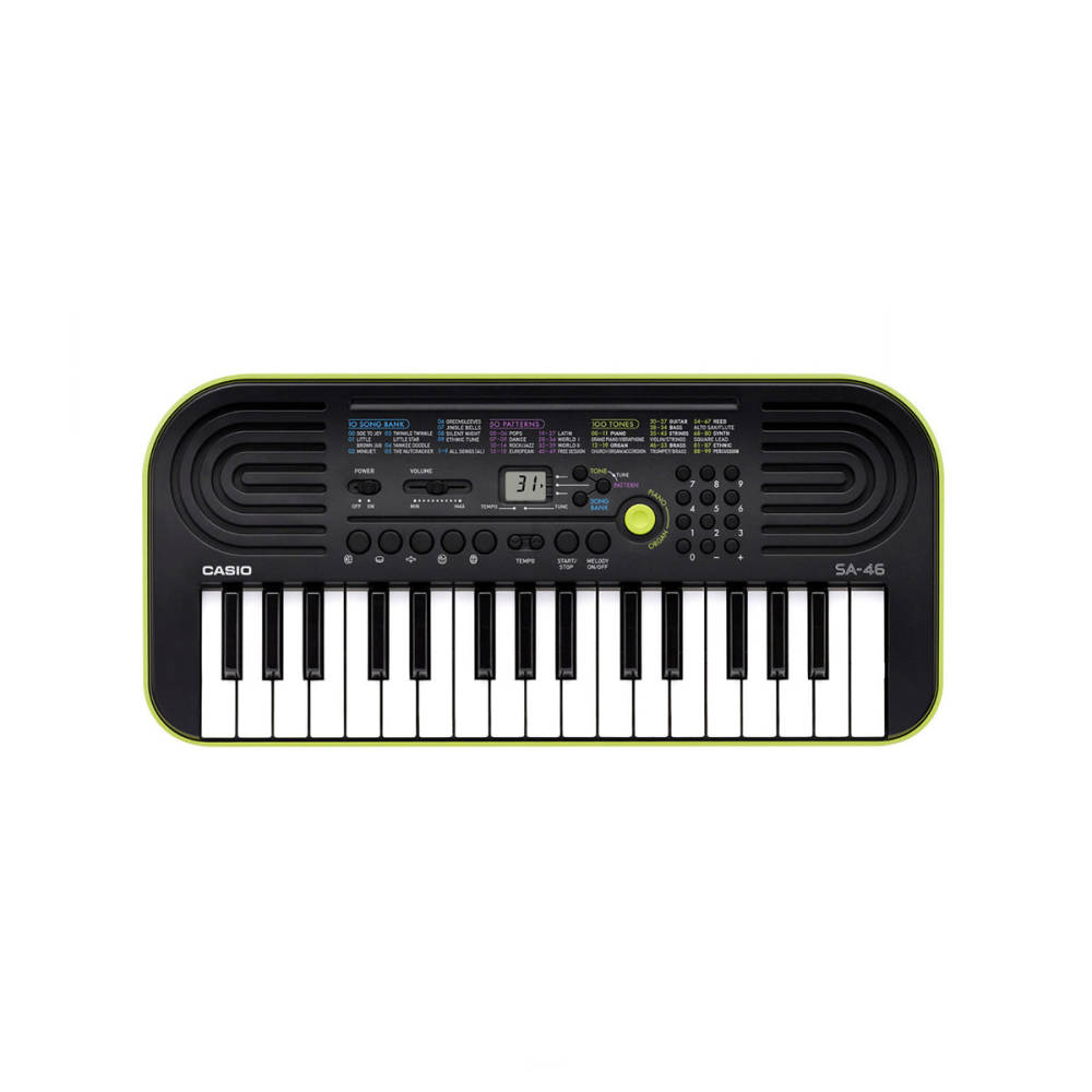CASIO SA-46 mini keyboard     5 lat gwarancji