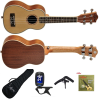 Ukulele Ever Play UK21-50 sopranowe - ZESTAW XL