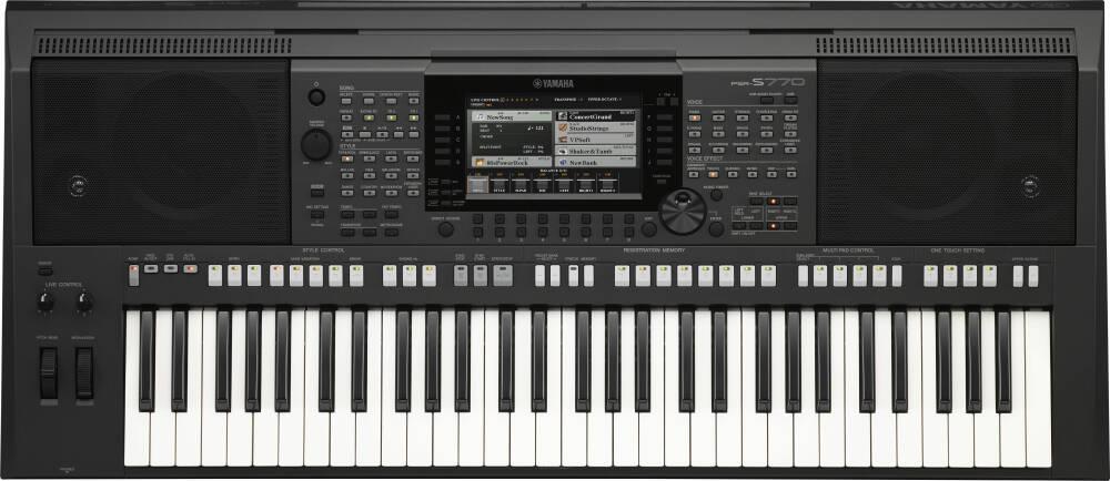 Yamaha PSR-S770 - keyboard