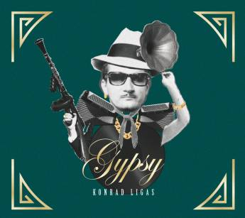 "Konrad Ligas ""Gypsy"" CD"